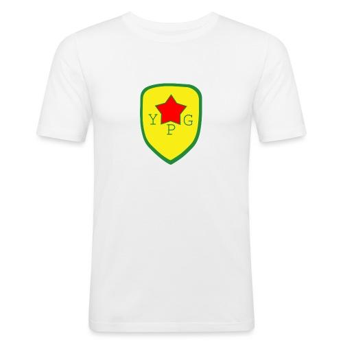 YPG Snapback Support hat - Miesten tyköistuva t-paita