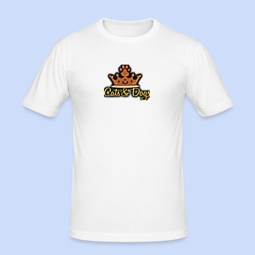 Official Cats&Dogs - Men's Slim Fit T-Shirt
