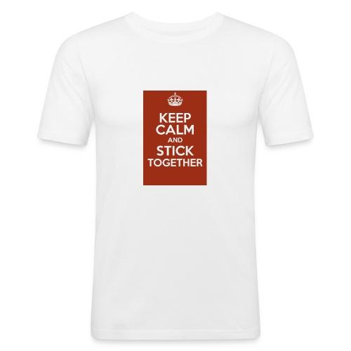Keep calm! - Men's Slim Fit T-Shirt
