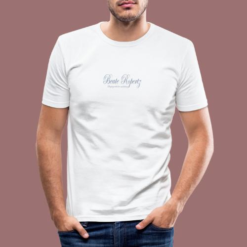 beate ropertz logo - Männer Slim Fit T-Shirt
