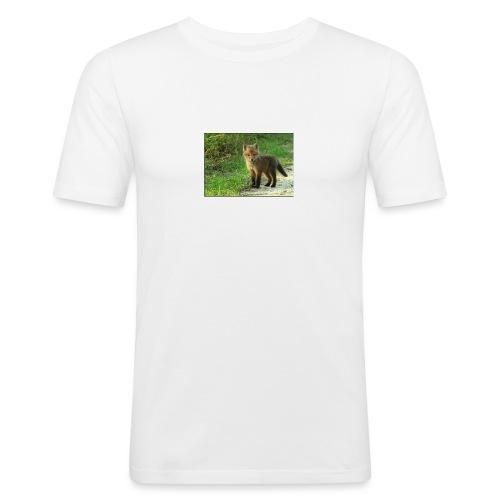vossen shirt kind - Mannen slim fit T-shirt