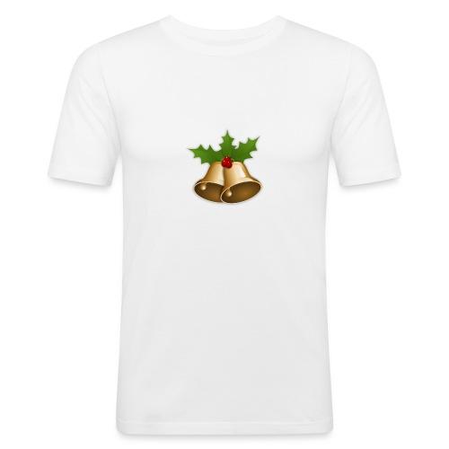 kerstttt - Mannen slim fit T-shirt