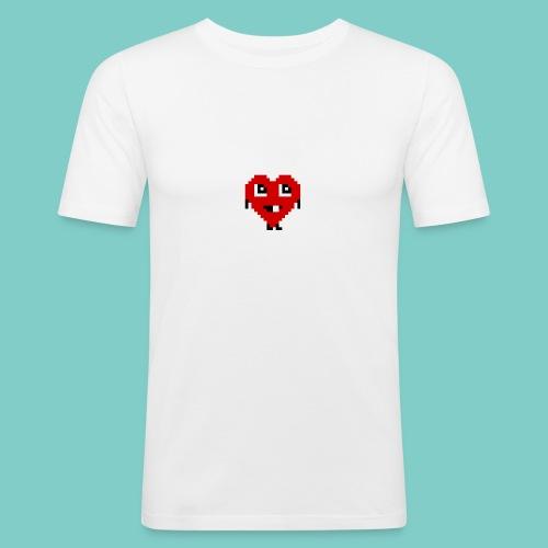Coeur mignon - T-shirt près du corps Homme