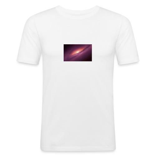 Galaxie no Time - Männer Slim Fit T-Shirt