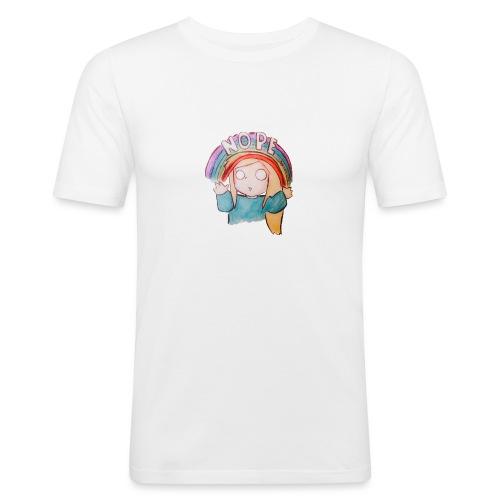 Nope. - Men's Slim Fit T-Shirt