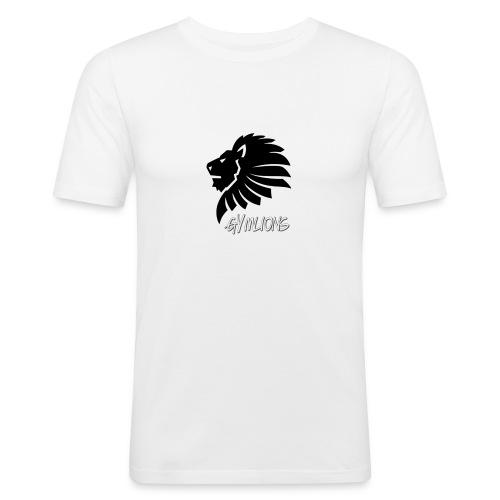 Gymlions T-Shirt - Männer Slim Fit T-Shirt
