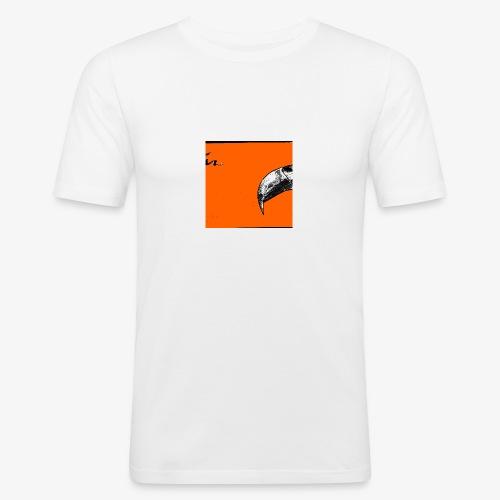 Beak Original Artwork - Slim Fit T-shirt herr