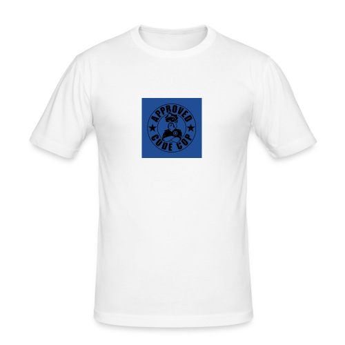 Codecop Approved 32 39mm 400DPI - Men's Slim Fit T-Shirt