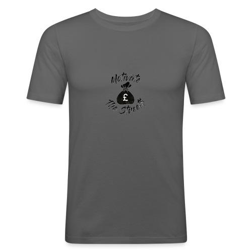 Motivate The Streets - Men's Slim Fit T-Shirt