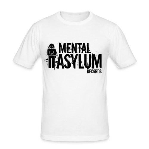 Mental Black - Men's Slim Fit T-Shirt