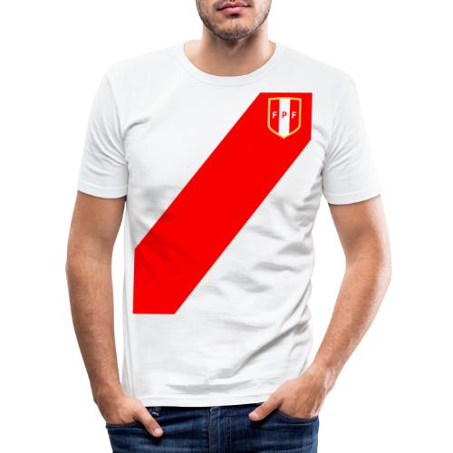 Seleccion peruana de futbol - Männer Slim Fit T-Shirt