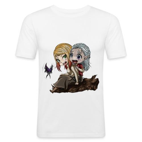 Amis d'Enfance - T-shirt près du corps Homme