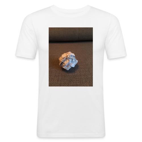 Jeg skal lave et projekt i billedkunst - Herre Slim Fit T-Shirt