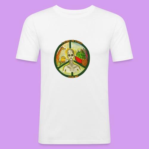 Katt Willow - Men's Slim Fit T-Shirt