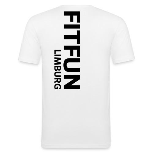 fitfun mit limburg weiß png - Männer Slim Fit T-Shirt