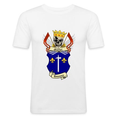 Martel LogoExpandables fond transparent png - T-shirt près du corps Homme