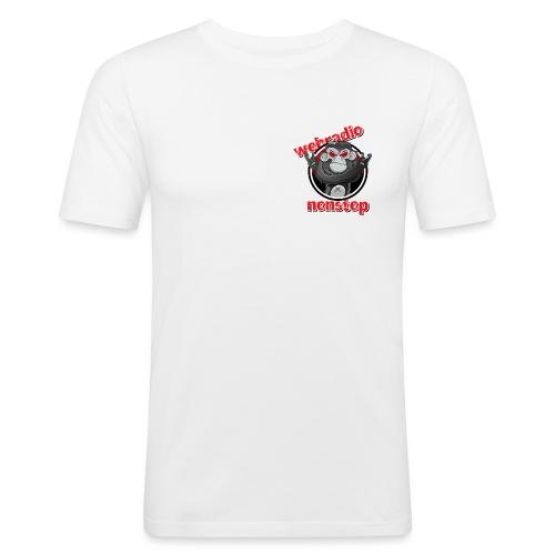webradio nonstop logo rz png - Männer Slim Fit T-Shirt
