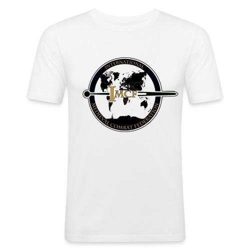 IMCF Logo final 84951 04 png - T-shirt près du corps Homme