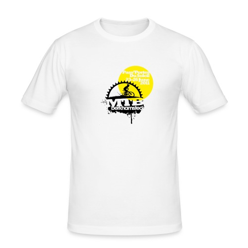passp logo - Men's Slim Fit T-Shirt