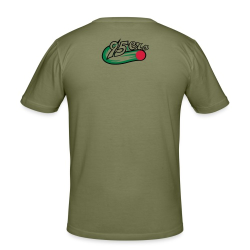 95ers logo neu - Männer Slim Fit T-Shirt
