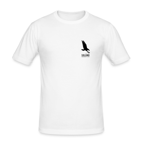 SolundSendebrettlaug-B - Slim Fit T-skjorte for menn
