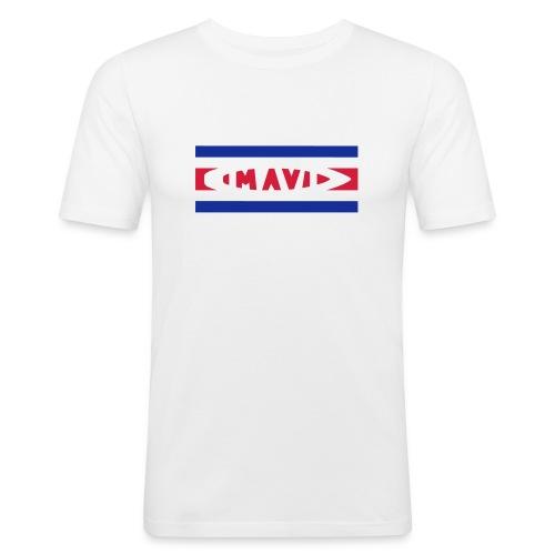 1637172 1010861387 bandieracostaricav1 - Men's Slim Fit T-Shirt