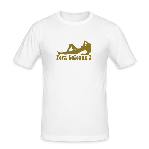 porn cologne - Männer Slim Fit T-Shirt