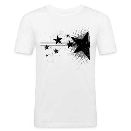 stars png - Mannen slim fit T-shirt