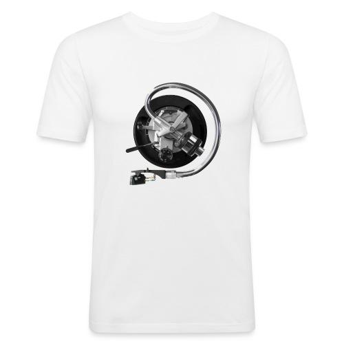 120dpiliebrandslarm - Mannen slim fit T-shirt