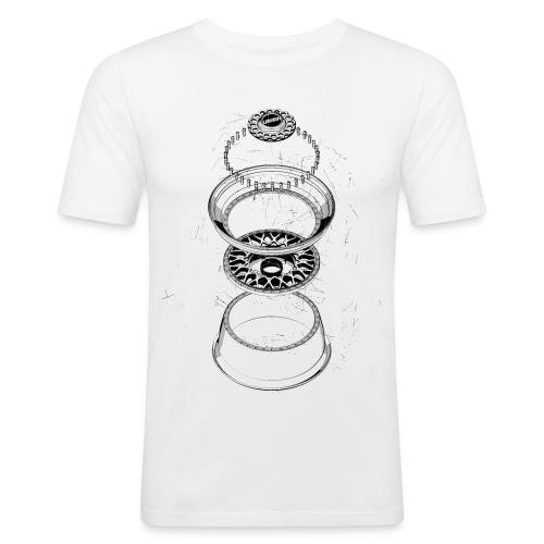 BBS RS BOOM · by LOWISH - Männer Slim Fit T-Shirt