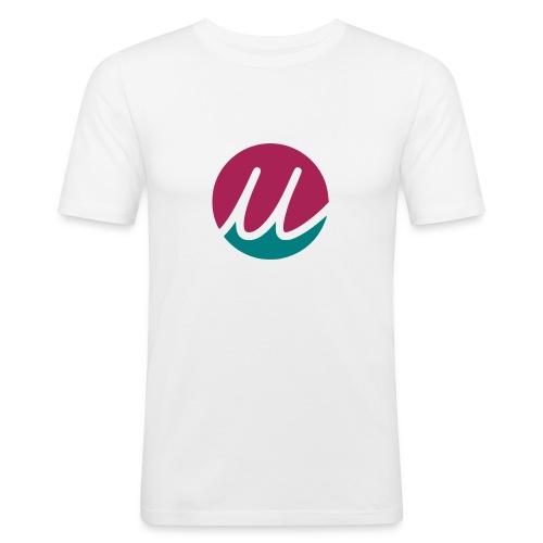 uela green pink - Männer Slim Fit T-Shirt
