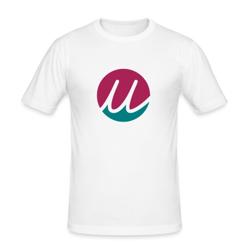 uela green pink - Männer Slim Fit T-Shirt