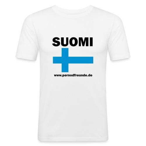 suomi - Männer Slim Fit T-Shirt