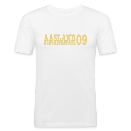 akf09 - Slim Fit T-skjorte for menn