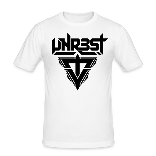 logo white - slim fit T-shirt