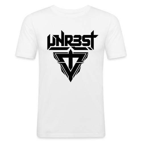 logo white - T-shirt près du corps Homme