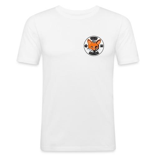 01_FOX_SMPB - Männer Slim Fit T-Shirt