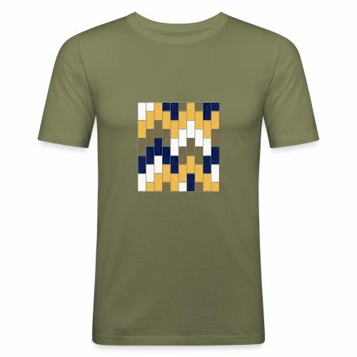 ONT WAY SUBWAY - Men's Slim Fit T-Shirt