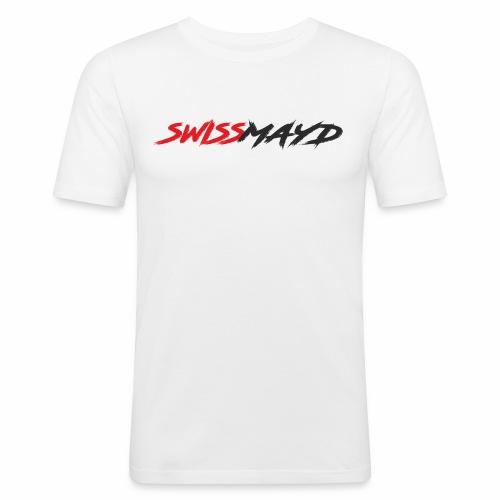 Logo Swissmayd - Männer Slim Fit T-Shirt
