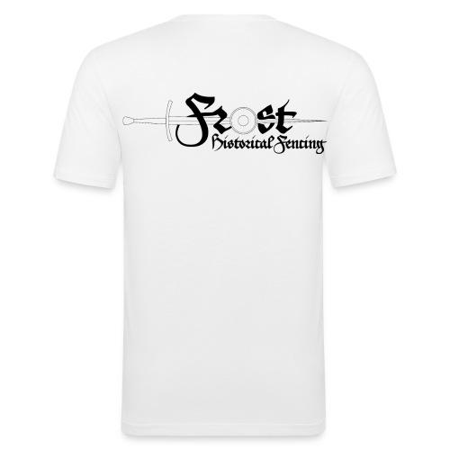 FrostHEMA-logga-text - Slim Fit T-shirt herr