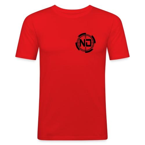 ND CROSSHAIR PALLO 2017 - Miesten tyköistuva t-paita