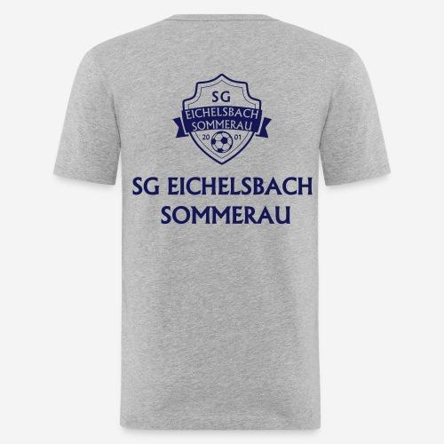 sg_text gerade_1 - Männer Slim Fit T-Shirt
