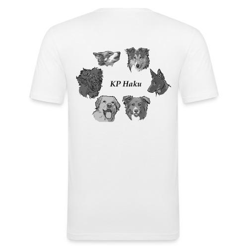 Tintti - Miesten tyköistuva t-paita