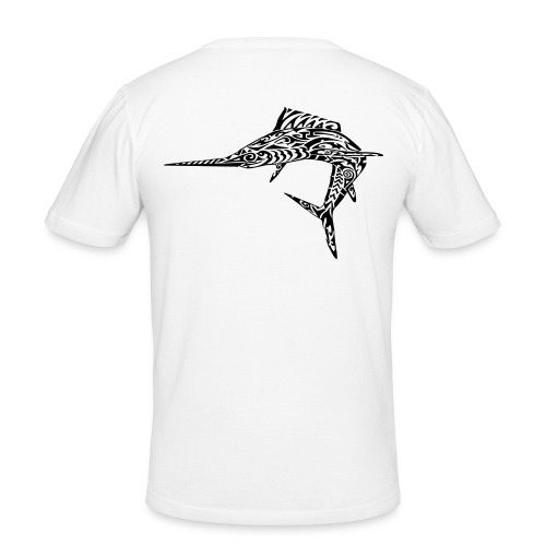 The Black Marlin - Men's Slim Fit T-Shirt