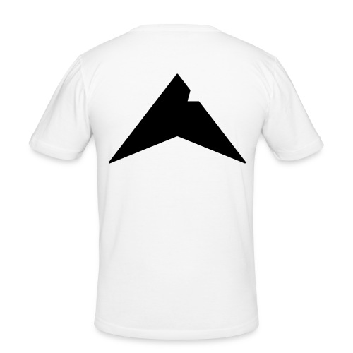 UP-CLAN Logo - Mannen slim fit T-shirt