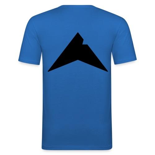 UP-CLAN Logo - Mannen slim fit T-shirt