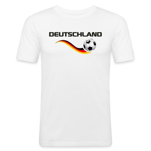 WM DEUTSCHLAND 1 - Männer Slim Fit T-Shirt