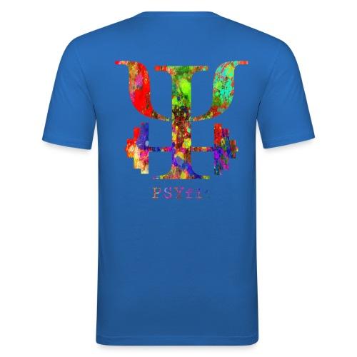 Watercolour splatter - Men's Slim Fit T-Shirt