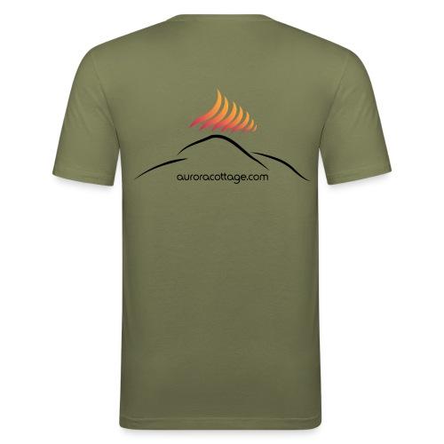 auroracottage.com - Männer Slim Fit T-Shirt