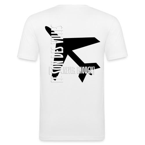 Le Son Des Villes Avion - T-shirt près du corps Homme